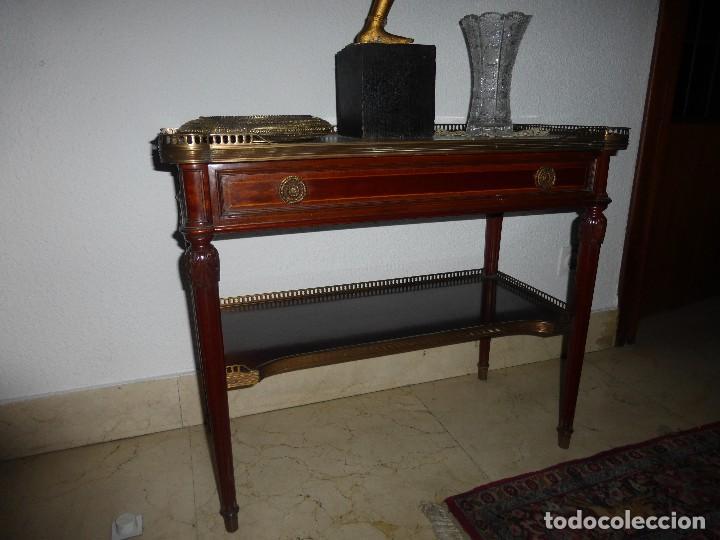 Antigüedades: MESA ESTILO LUIS XVI DE SIMÓN LOSCERTALES BONA - Foto 2 - 74977443