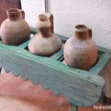 Antigüedades: CANTARERA ANTIGUA ARTESANAL. Lote 74998007