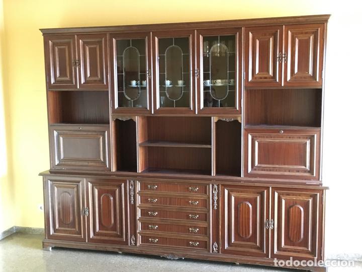 antigedades mueble libreria de salon comedor foto
