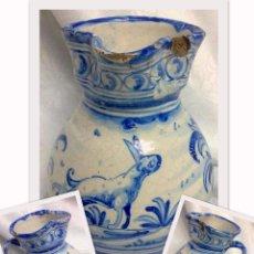 Antigüedades: SIGLO XIX-XX JARRA DE BOLA, TALAVERA.. Lote 29140543