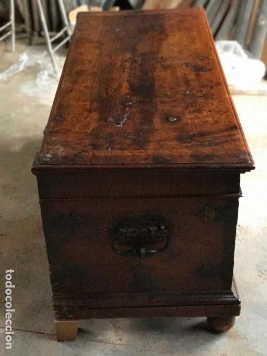 Antigüedades: Arca de nogal del SXVII - Foto 10 - 75068883