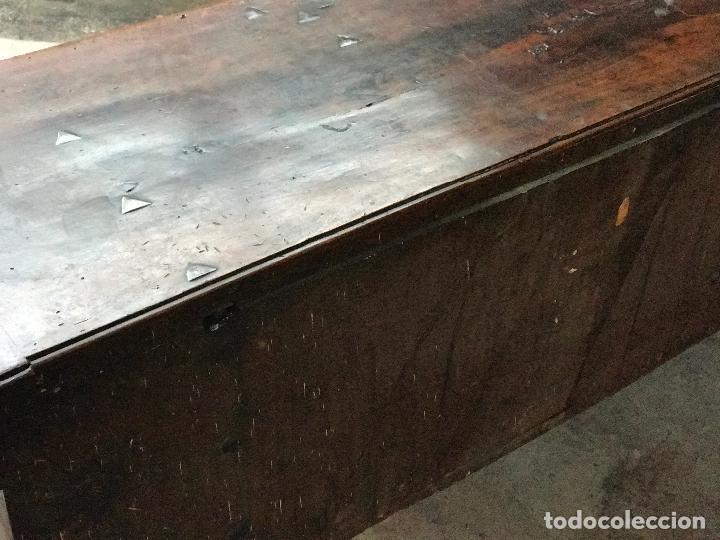 Antigüedades: Arca de nogal del SXVII - Foto 12 - 75068883