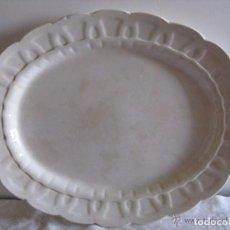Antigüedades: ANTIGUA BANDEJA DE PORCELANA BOOTHS SILICON CHINA ENGLAND. Lote 75086179