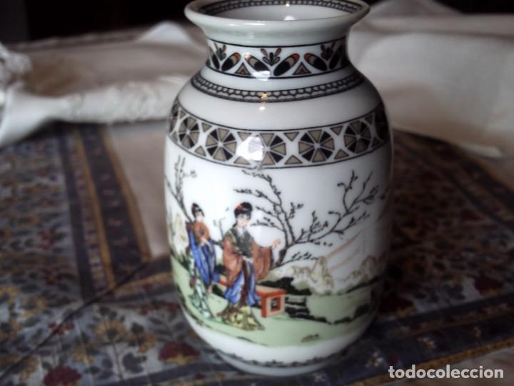 FLORERO DE LA CASA ESPAÑOLA SAMBO.-EXCELENTE. (Antigüedades - Hogar y Decoración - Floreros Antiguos)