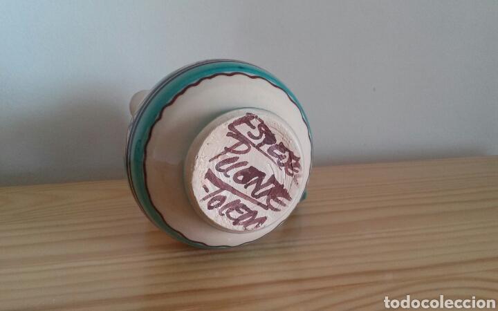 Antigüedades: Jarrita cerámica Puente Arzobispo - Foto 5 - 75112099