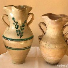 Antigüedades: JARRAS ALCARRAZAS. CERÁMICA POPULAR DE ANDALUCIA. Lote 75125507