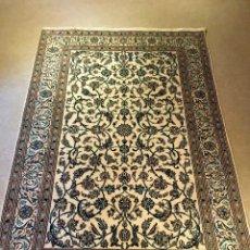 Antigüedades: ALFOMBRA PERSA IRAN NAIN KASHMAR. Lote 75131551