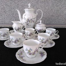Antigüedades: JUEGO DE CAFÉ SELTMANN WEIDEN. Lote 75137531