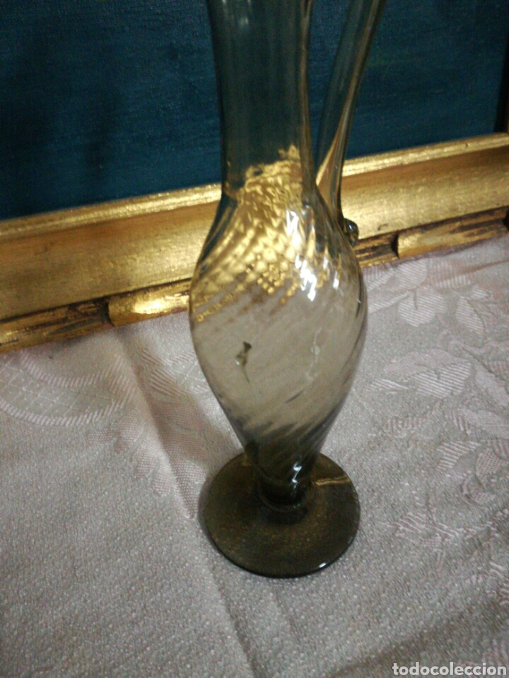 Antigüedades: Jarrita de cristal soplado mallorquín - Foto 2 - 75154650