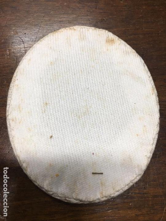 Antigüedades: ANTIGUO PARCHE DE LAS CINGO LLAGAS MEDIDA 9X7,5 CM - SEMANA SANTA - CRISTO - VIRGEN - RELIGIOSO - Foto 2 - 75200743