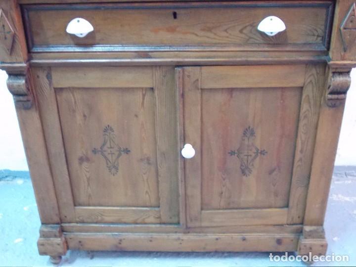 antigedades bonito mueble aparador de cocina