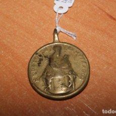 Antigüedades: MEDALLA BRONCE SIGLO XVI O XVII VIRGEN DE LOS DESANPARADOS VALENCIA . Lote 75205771
