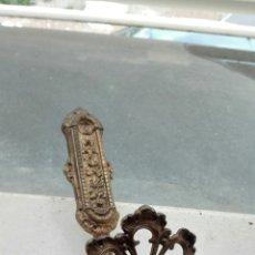 Antigüedades: PRECIOSA PERCHA ALZAPAÑOS - RECOGE CORTINAS. Lote 75206826