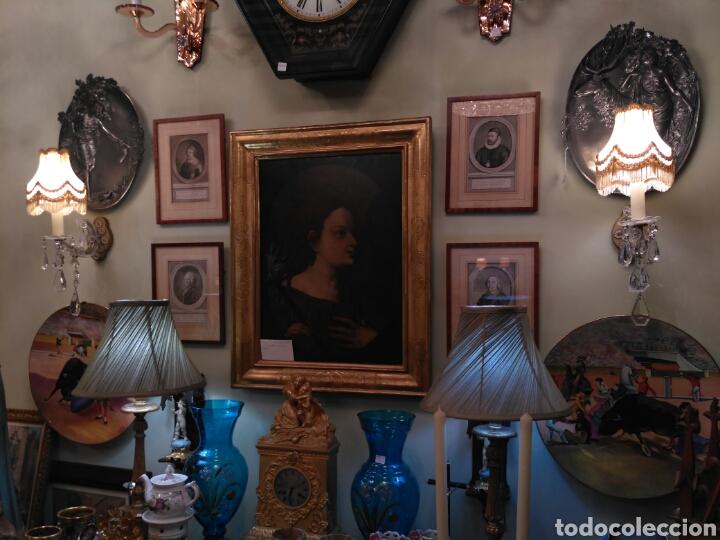 Antigüedades: Apliques pared de cristal tallado del siglo XX - Foto 4 - 74931290