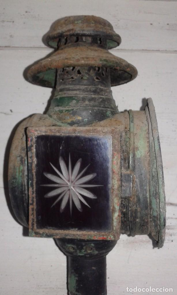 Antigüedades: FAROL DE CARRO - Foto 3 - 75281363