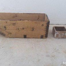Antigüedades: FANEGA ANTIGUA Y CELEMINES ANTIGUOS MADERA DE LA ZONA ALMERÍA Y GRANADA CELEMIN ANTIGUO CUARTILLA. Lote 75284463