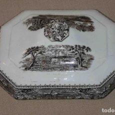 Antigüedades: TAPA DE SOPERA DE SAN JUAN DE AZNALFARACHE. Lote 75284683