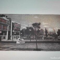 Antigüedades: GRABADO EDICION LIMITADA - BANCO SABADELL - PLAZA DE COLÓN - MADRID - FRANCISCO DOMINGUEZ PENIS -. Lote 75295215