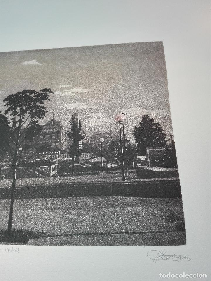 Antigüedades: GRABADO EDICION LIMITADA - BANCO SABADELL - PLAZA DE COLÓN - MADRID - FRANCISCO DOMINGUEZ PENIS - - Foto 3 - 75295215