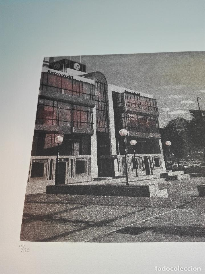 Antigüedades: GRABADO EDICION LIMITADA - BANCO SABADELL - PLAZA DE COLÓN - MADRID - FRANCISCO DOMINGUEZ PENIS - - Foto 5 - 75295215