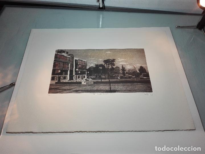 Antigüedades: GRABADO EDICION LIMITADA - BANCO SABADELL - PLAZA DE COLÓN - MADRID - FRANCISCO DOMINGUEZ PENIS - - Foto 6 - 75295215