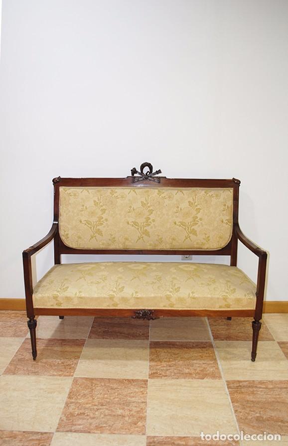 Sof antiguo estilo luis xvi comprar sof s antiguos en for Sofas antiguos