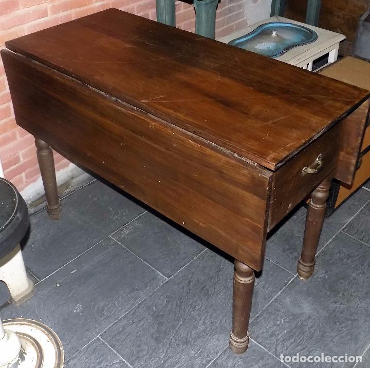mesa tocinera o de cocina. rara. siglo xix. 1m - Comprar Mesas ...