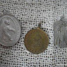 Antigüedades: TRES MEDALLAS. Lote 75407147