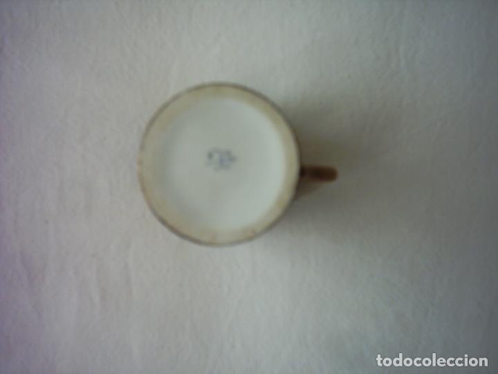 Antigüedades: TAZA DE PORCELANA DEL BUEN-RETIRO, MADRID. MARCA ESTAMPADA DEL SIGLO XVIII. 5 X 5 cm. - Foto 8 - 72869863