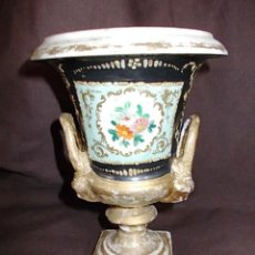 Antigüedades: ANTIGUO JARRON IMPERIO RESTAURADO. Lote 75414891