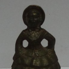 Antigüedades: (M-P) ANTIGUA CAMPANA DE BRONCE MUJER VER FOTOS. Lote 75505503
