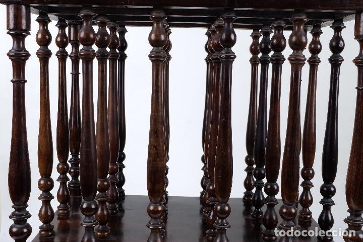 Antigüedades: Revistero en madera de palo santo macizo años 20 - Foto 2 - 75535711
