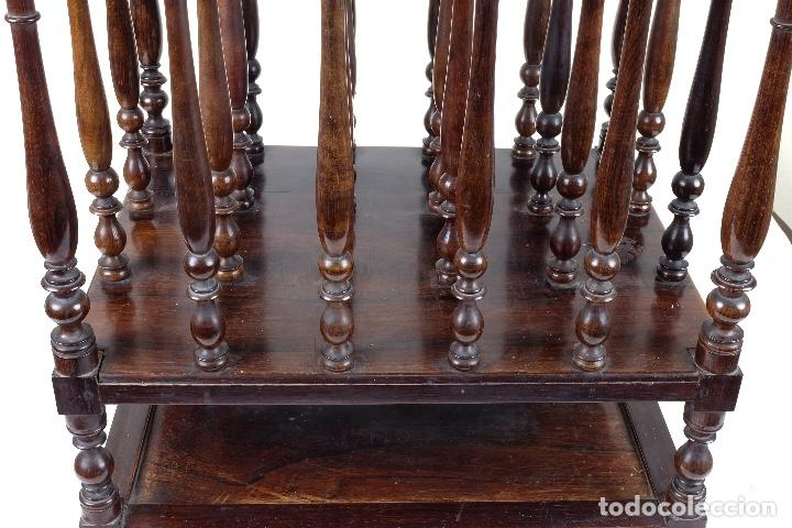 Antigüedades: Revistero en madera de palo santo macizo años 20 - Foto 3 - 75535711