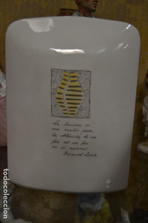 Antigüedades: jarron de porcelana algora - Foto 4 - 75537783