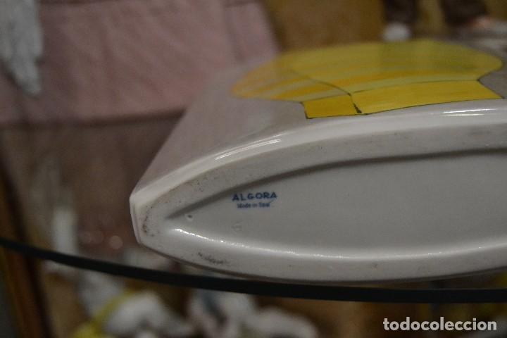 Antigüedades: jarron de porcelana algora - Foto 5 - 75537783