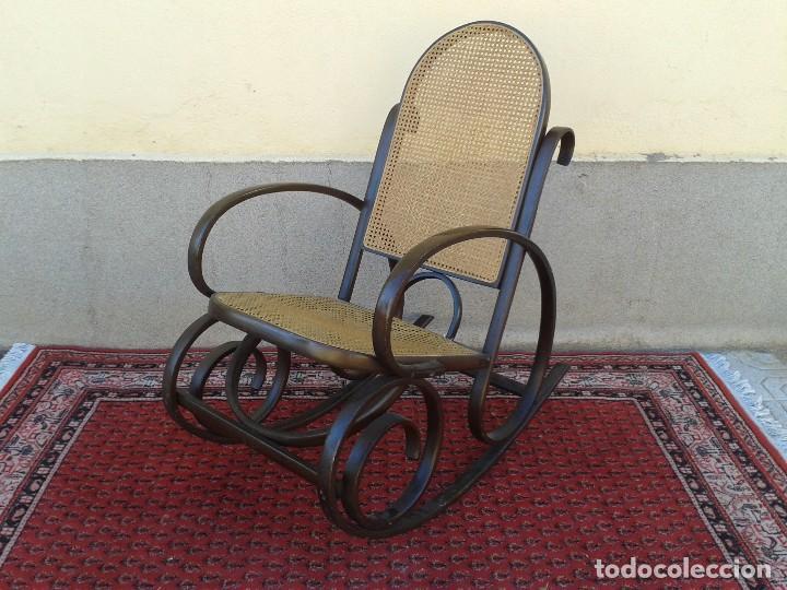 Antigüedades: mecedora antigua estilo thonet. mecedora antigua retro vintage. - Foto 2 - 75552567