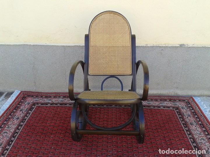 Antigüedades: mecedora antigua estilo thonet. mecedora antigua retro vintage. - Foto 3 - 75552567