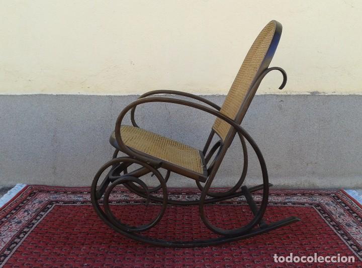 Antigüedades: mecedora antigua estilo thonet. mecedora antigua retro vintage. - Foto 4 - 75552567