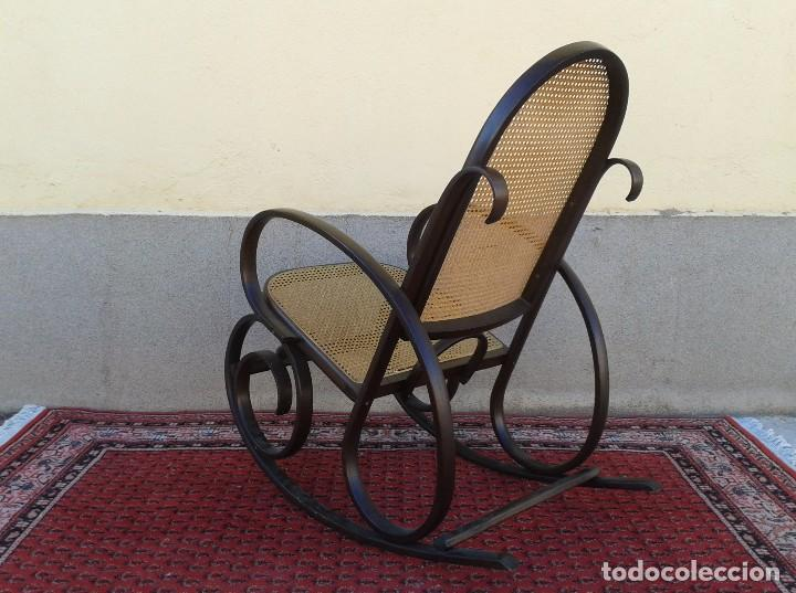 Antigüedades: mecedora antigua estilo thonet. mecedora antigua retro vintage. - Foto 6 - 75552567