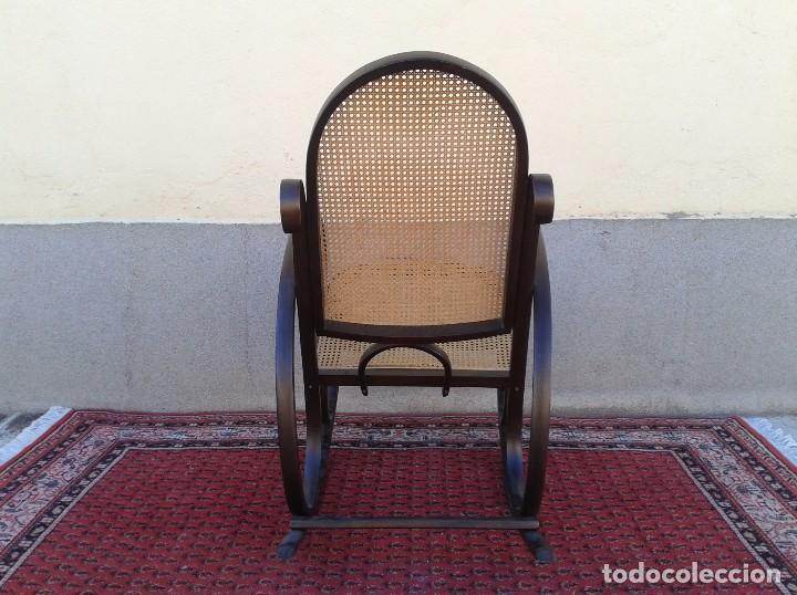 Antigüedades: mecedora antigua estilo thonet. mecedora antigua retro vintage. - Foto 7 - 75552567