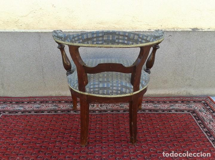 Antigüedades: Silla descalzadora antigua, sillón descalzador antiguo retro vintage - Foto 7 - 75553263