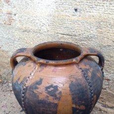 Antigüedades: TINAJA DE BARRO. Lote 75617047