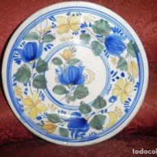 Antigüedades: ANTIGUO PLATO DE CERAMICA VALENCIANA. Lote 75622851