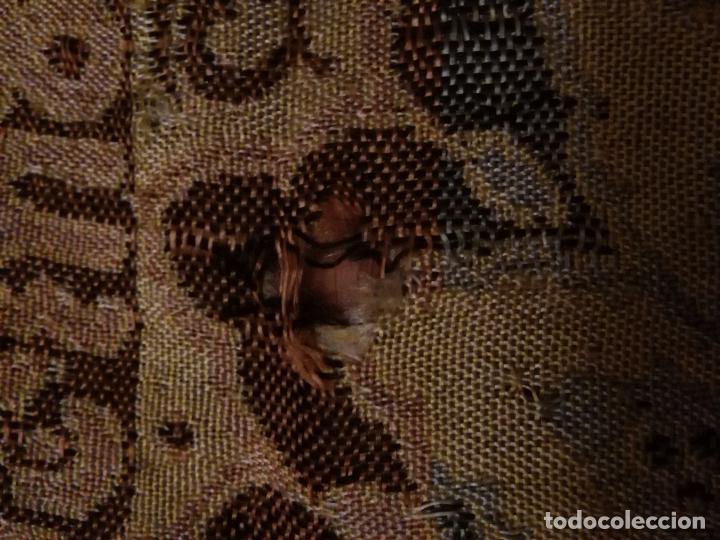 Antigüedades: PEQUEÑO MANTON MANTONCILLO TAPETE PARA MUÑECA NANCY O SIMILAR , SEDINA CACHEMIR . ANTIGUO MUY BONITO - Foto 12 - 75640731