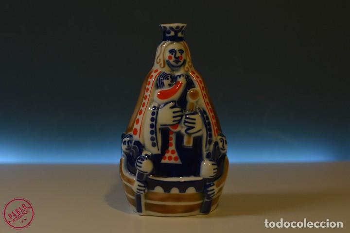NOSA SEÑORA DA BARCA SARGADELOS VIRGEN DE LA BARCA 672/1000 (Antigüedades - Porcelanas y Cerámicas - Sargadelos)