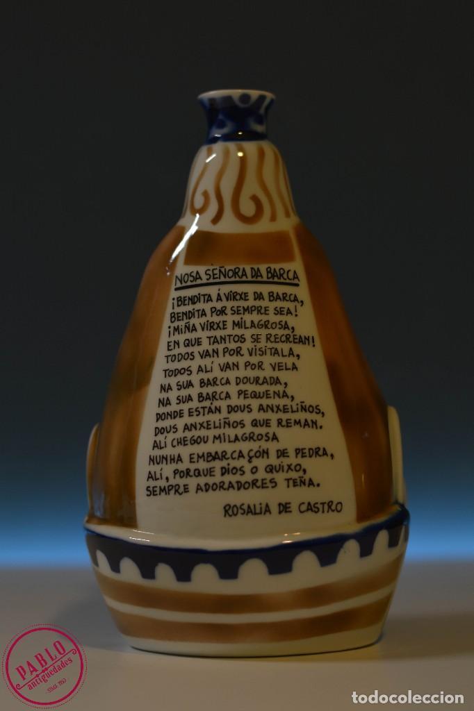 Antigüedades: Nosa Señora da Barca Sargadelos Virgen de la Barca 672/1000 - Foto 3 - 75652891
