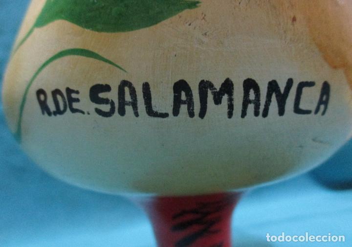 Antigüedades: BOTIJO, GALLO, GALLINA, RECUERDO DE SALAMANCA - Foto 4 - 75654423
