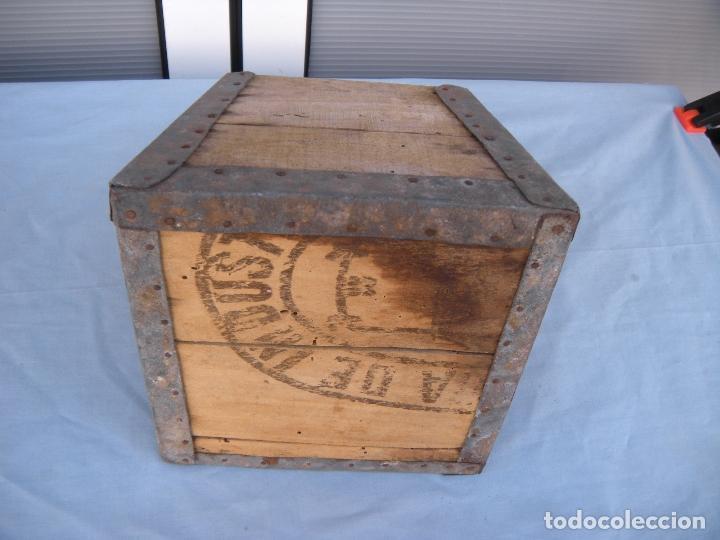 Antigüedades: ANTIGUA MEDIDA DE GRANO - Foto 3 - 75656295