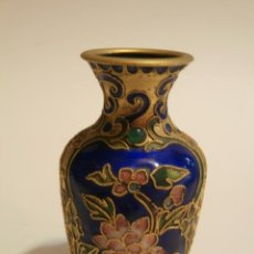 Antigüedades: JARRONCITO CLOISONNE . Lote 75658487