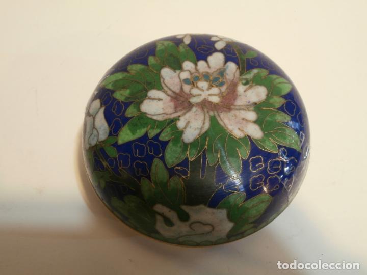 CAJITA CHINA CLOISONNE (Antigüedades - Porcelanas y Cerámicas - China)